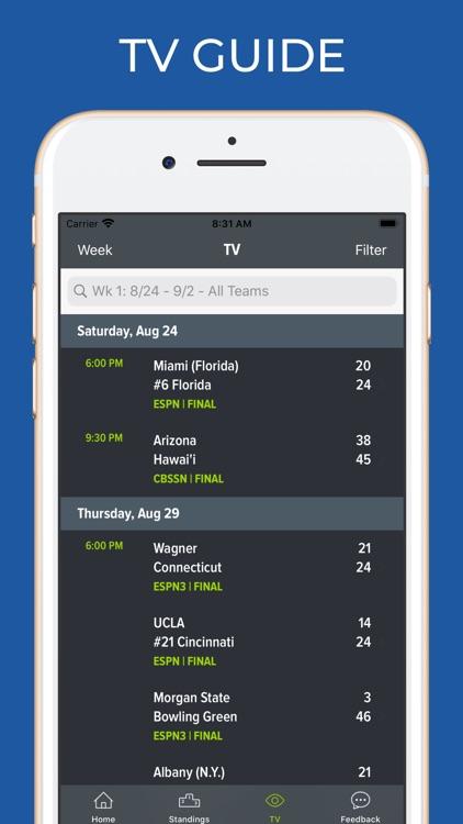 Iowa State Football Schedules screenshot-6