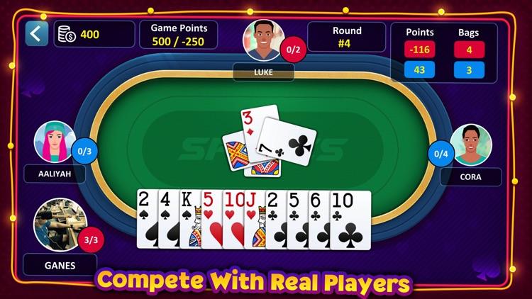 Spades: Casino Card Game