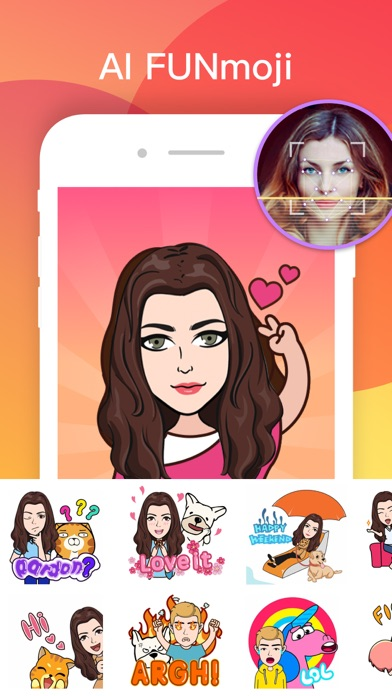 FUN Keyboard -Emoji & Themes Screenshot