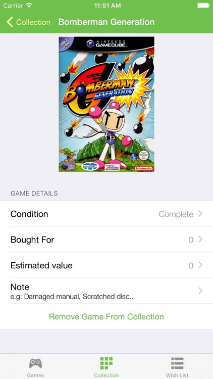 Collector-Your game collection