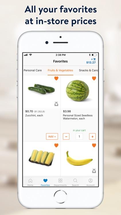 Walmart Grocery Shopping screenshot-5