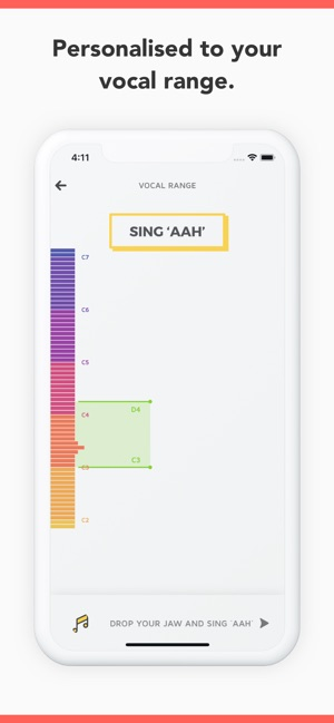 Vanido: Learn to sing on the App Store