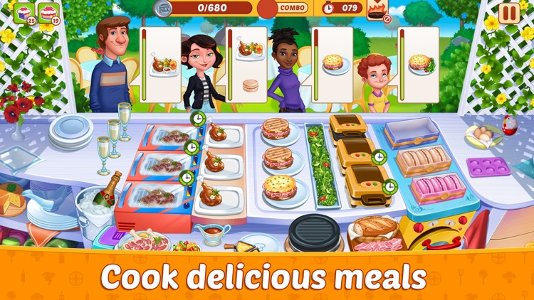 Crazy Restaurant Cooking Party screenshot-0