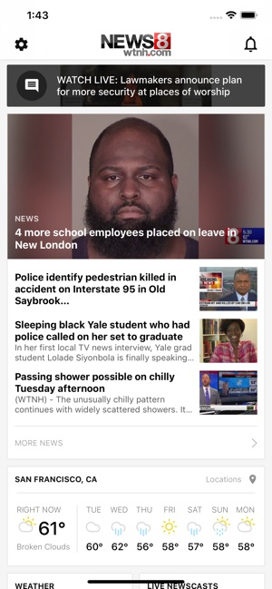 News 8 Now >> Wtnh News 8 On The App Store