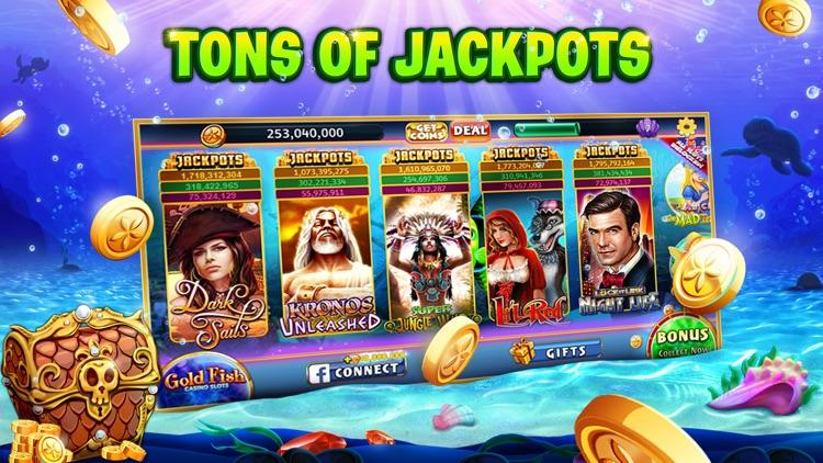 Gold Fish Casino Slots Games screenshot-4