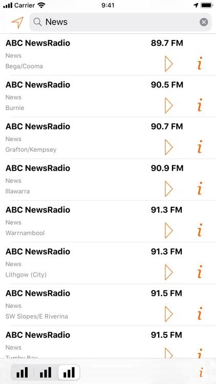 Radio Guide Australia Lite screenshot-3