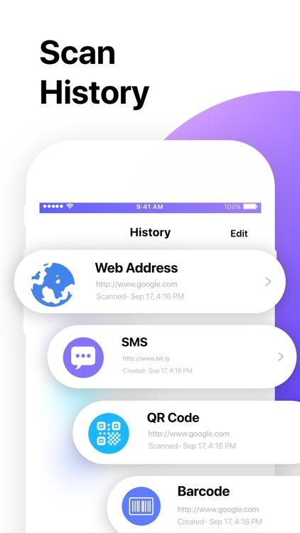 QR Code Reader゜ screenshot-4