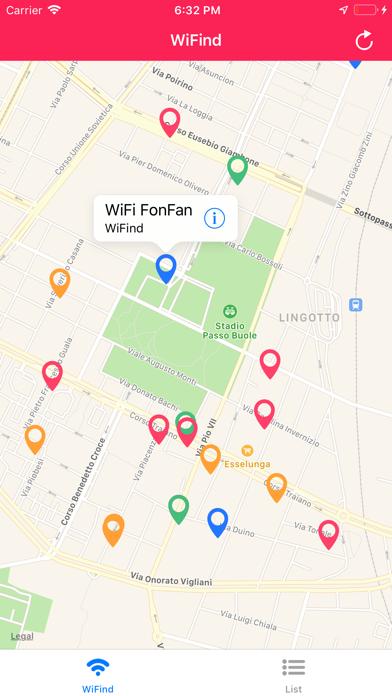 WiFind Screenshots