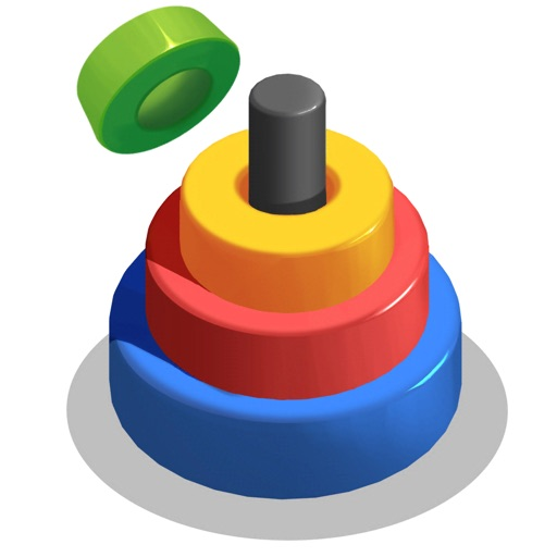 Circle Merge 3D - Color Stack iOS App