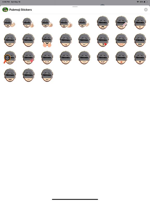 Pubmoji Stickers screenshot 4