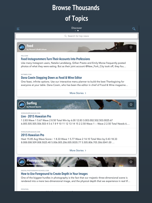 Nuzzel: News From Friends And Influencers screenshot