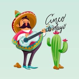 Cinco De Mayo Mexico Stickers