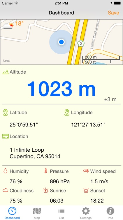 Altimeter Pro + screenshot-0