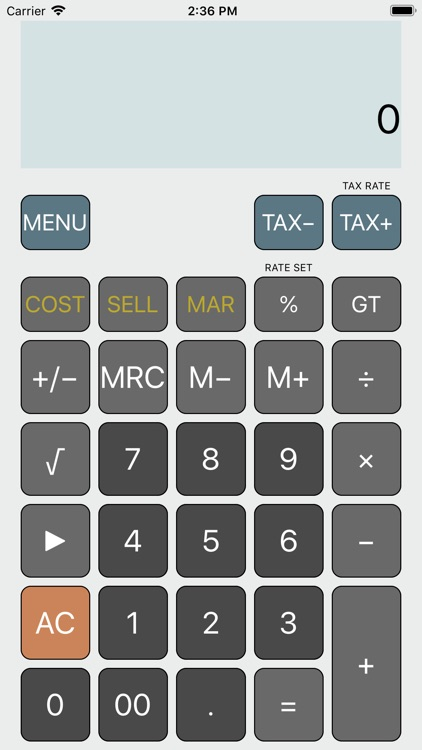iCalc: Classic Calculator