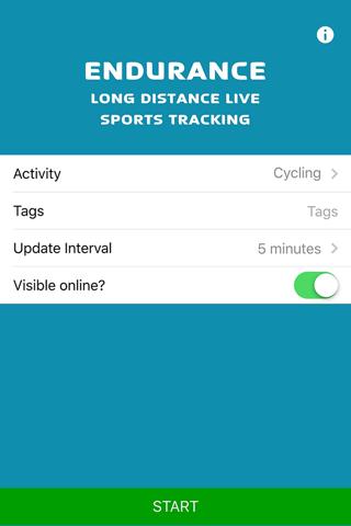 Map My Tracks Endurance - náhled