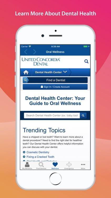 United Concordia Dental Mobile screenshot-4