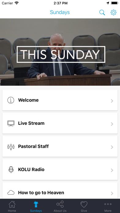 Riverview Baptist Pasco screenshot two