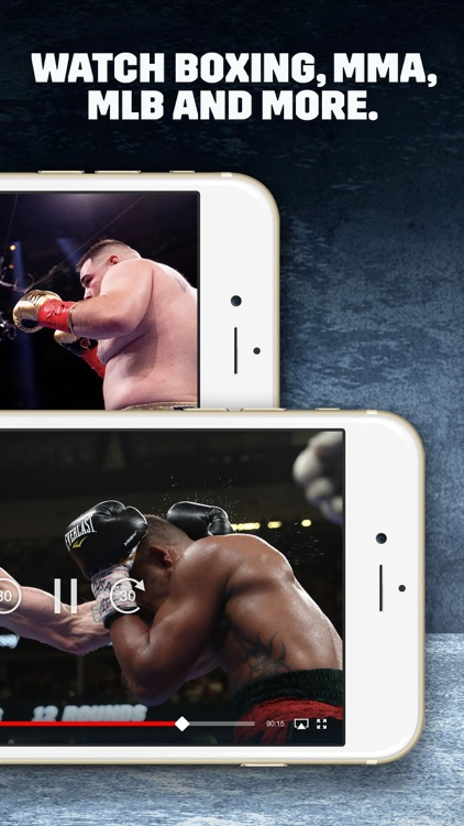 DAZN: Live Boxing, MMA & MLB screenshot-3