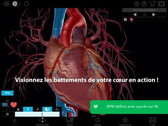 Physiologie & Pathologie iPad captures décran