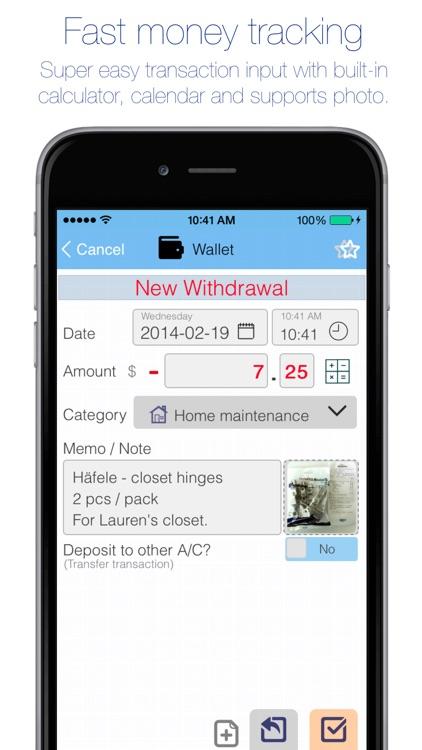 Evo Wallet - Money Tracker
