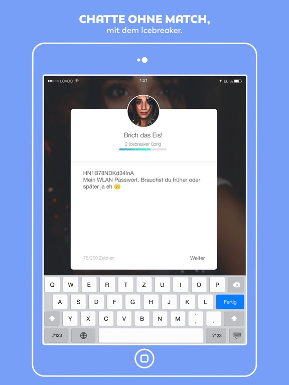 Über mich text vorlagen dating: Lovoo premium verbergen