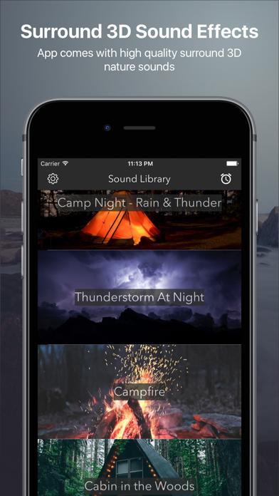 リラックスした雨と雷、雨の音、深い眠りリラクゼーション、瞑想のおすすめ画像1