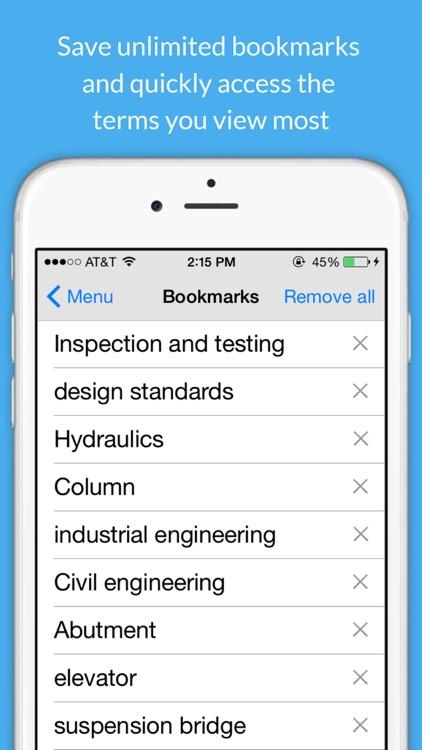 Engineering Dictionary. screenshot-4
