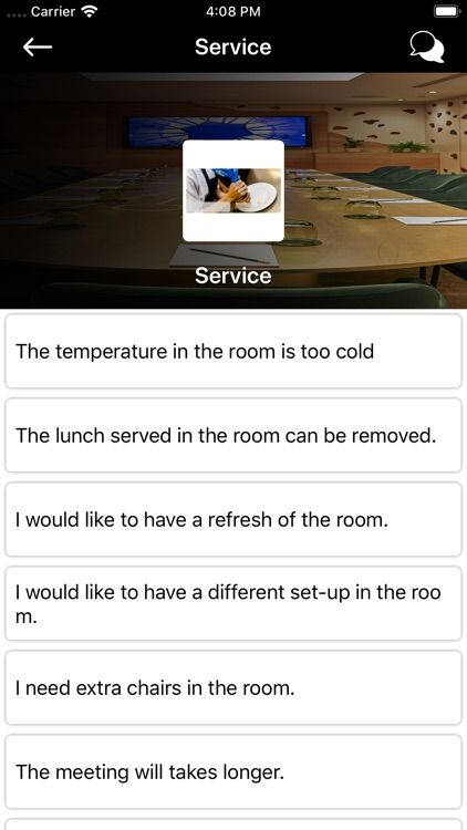 Hilton Service App screenshot-3