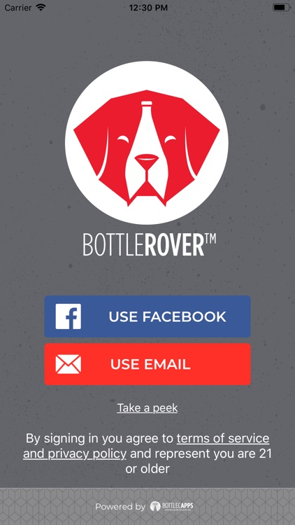 Bottle Rover: Alcohol Delivery