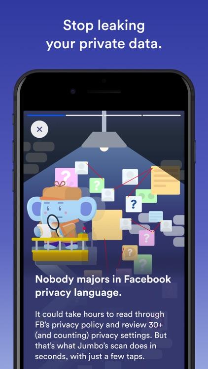 Jumbo: Privacy + Security screenshot-5