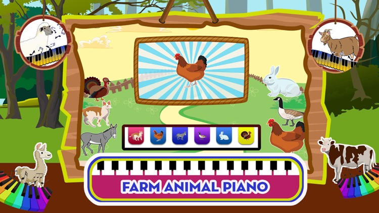 Baby Piano Animal Sounds Game screenshot-4
