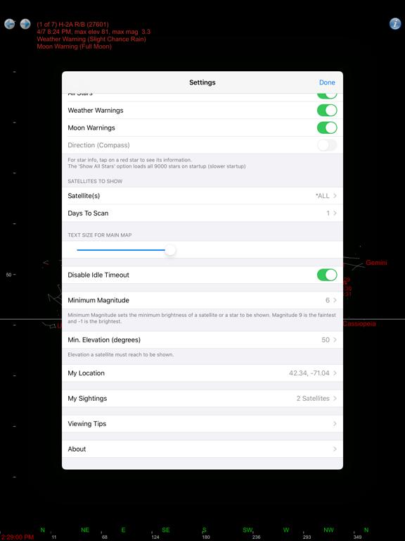 Satellite Watcher screenshot