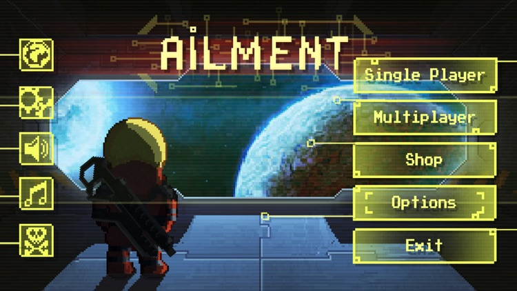 Ailment: space bullet hell screenshot-3