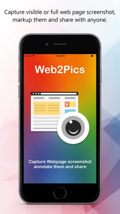Web2Pics - Webpage Screenshots Screenshots