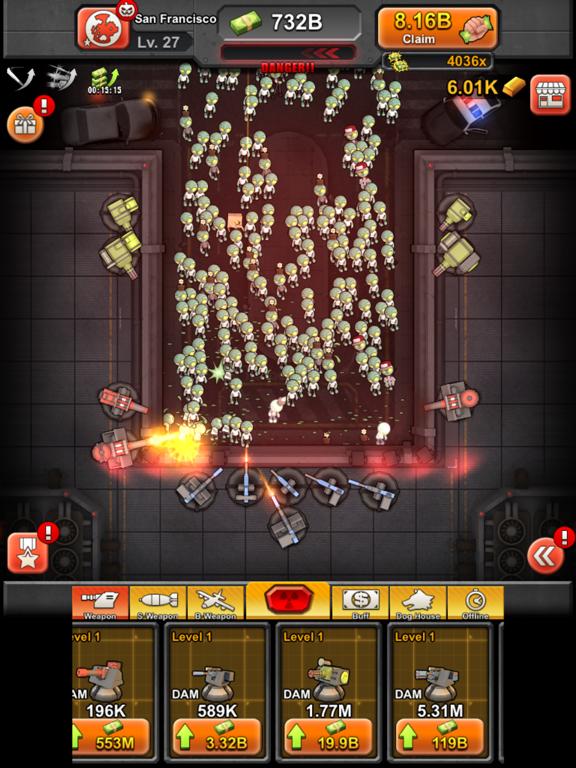 Игра Idle Zombies