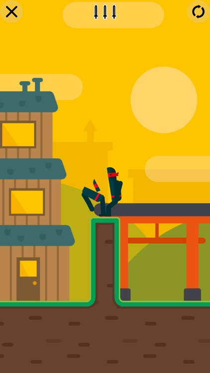 Mr Ninja - Slicey Puzzles screenshot-4