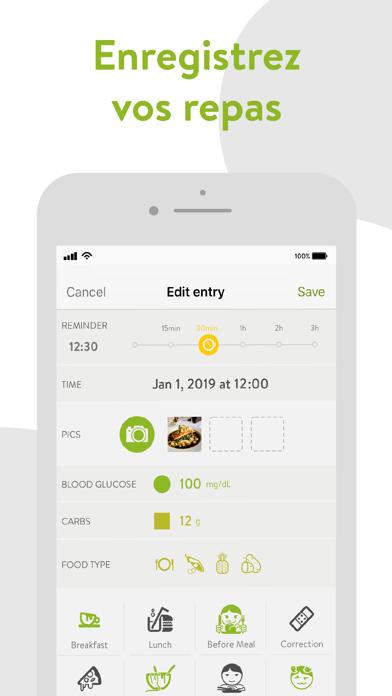 Screenshot #2 pour mySugr - App Carnet de Diabète