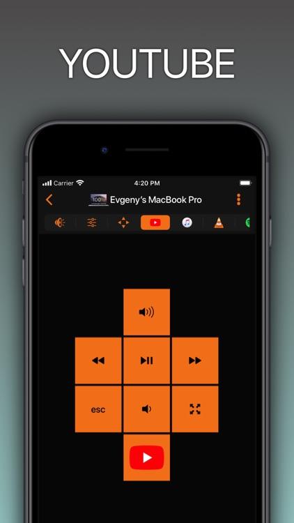 Remote Control for Mac / PC screenshot-5