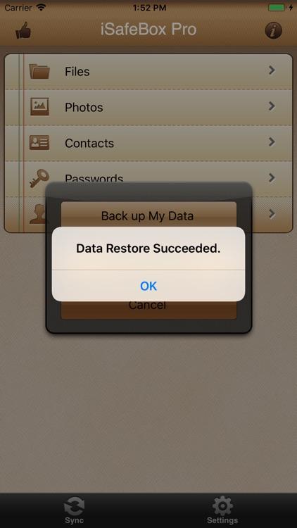 iSafeBox - Data Guard screenshot-8