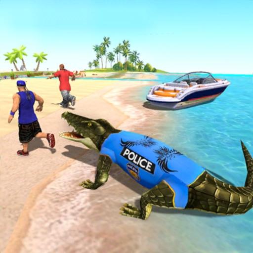 Crocodile Police Pursuit 3D iOS App