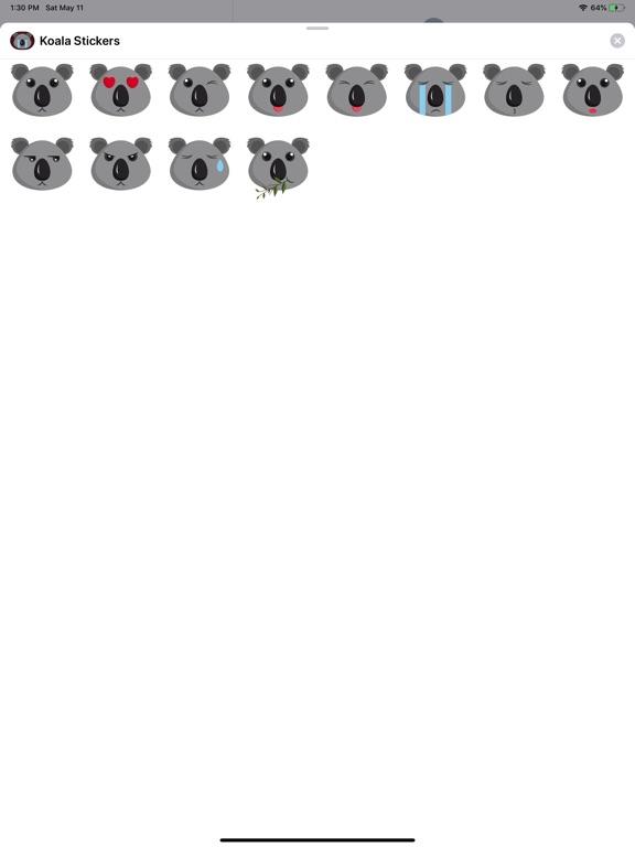 Koala Cartoon Stickers screenshot 4