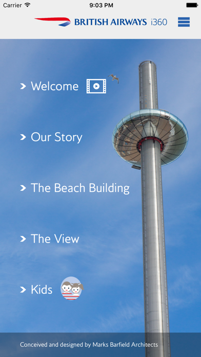British Airways i360 screenshot one