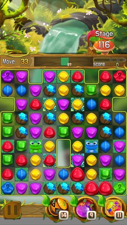 Candy forest fantasy : Match 3 screenshot-3