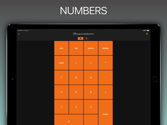Remote NumPad & KeyPad Pro Screenshots