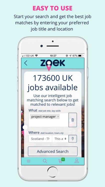Zoek Job Search screenshot-3