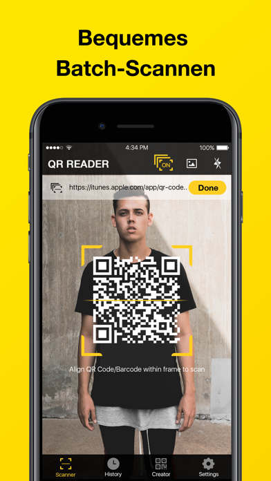 Screenshot for QR-Code & Barcode-Scanner in Germany App Store