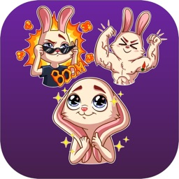 New Lovely Rabbit Stickers HD