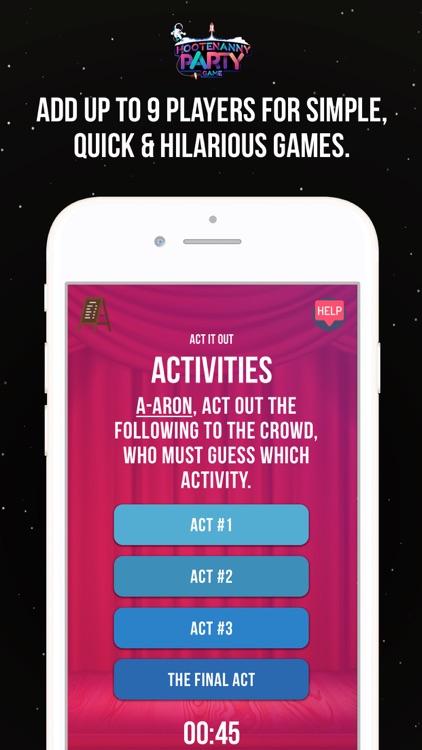 Hootenanny Party Game - Social screenshot-3