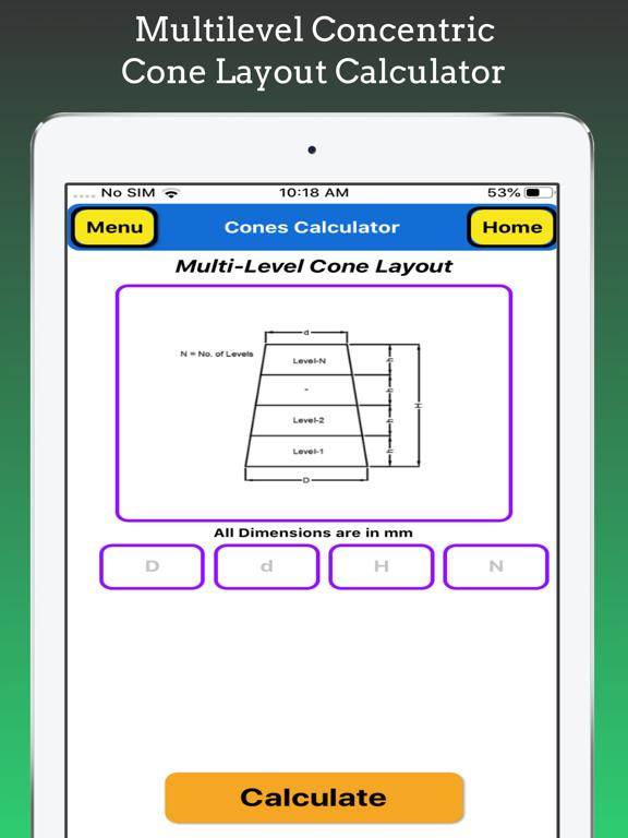 Cones Calculator screenshot 16
