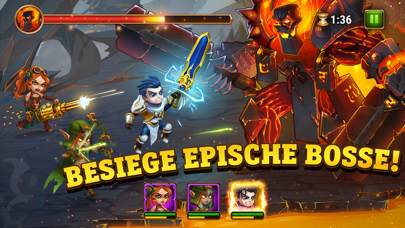 Herunterladen Hero Wars - Fight the Monsters für Pc